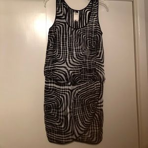 Ali Ro Mini dress with drop waist